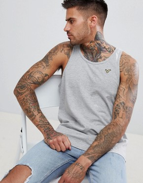 Voi Jeans Embroidered Vest - Grey