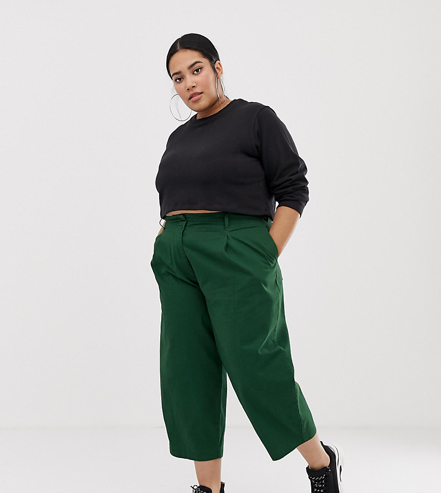 Trousers by ASOS DESIGN, Put the jeans away for a day, High-rise waist, Concealed fly, Side and back pockets, Wide-cut leg, Regular fit, True to size, Part of the Eco Edit. Giving you the confidence to express your individuality, ASOS DESIGN interprets major trends, adding a unique ASOS spin from our London design team. All the denim, dresses, jackets and pieces you need – including our fit ranges ASOS Curve, Tall, Petite and Maternity and our ASOS DESIGN Makeup collection – to invent a style that's all yours, then switch it up again tomorrow, making every day, night and everything in-between as extraordinary as you are. Your life is eclectic and unexpected and, now, so is your wardrobe.