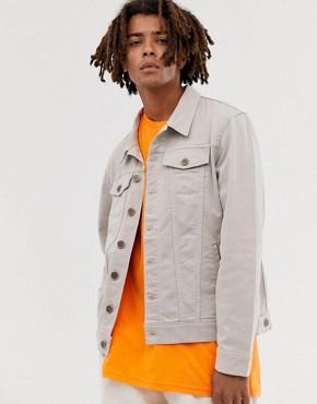 Brooklyn Supply Co denim jacket in tan