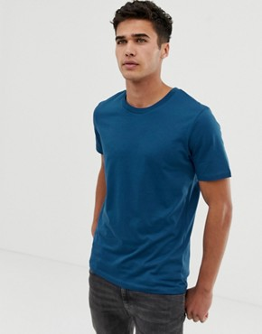 Selected Homme perfect t-shirt in pima cotton - Limoges