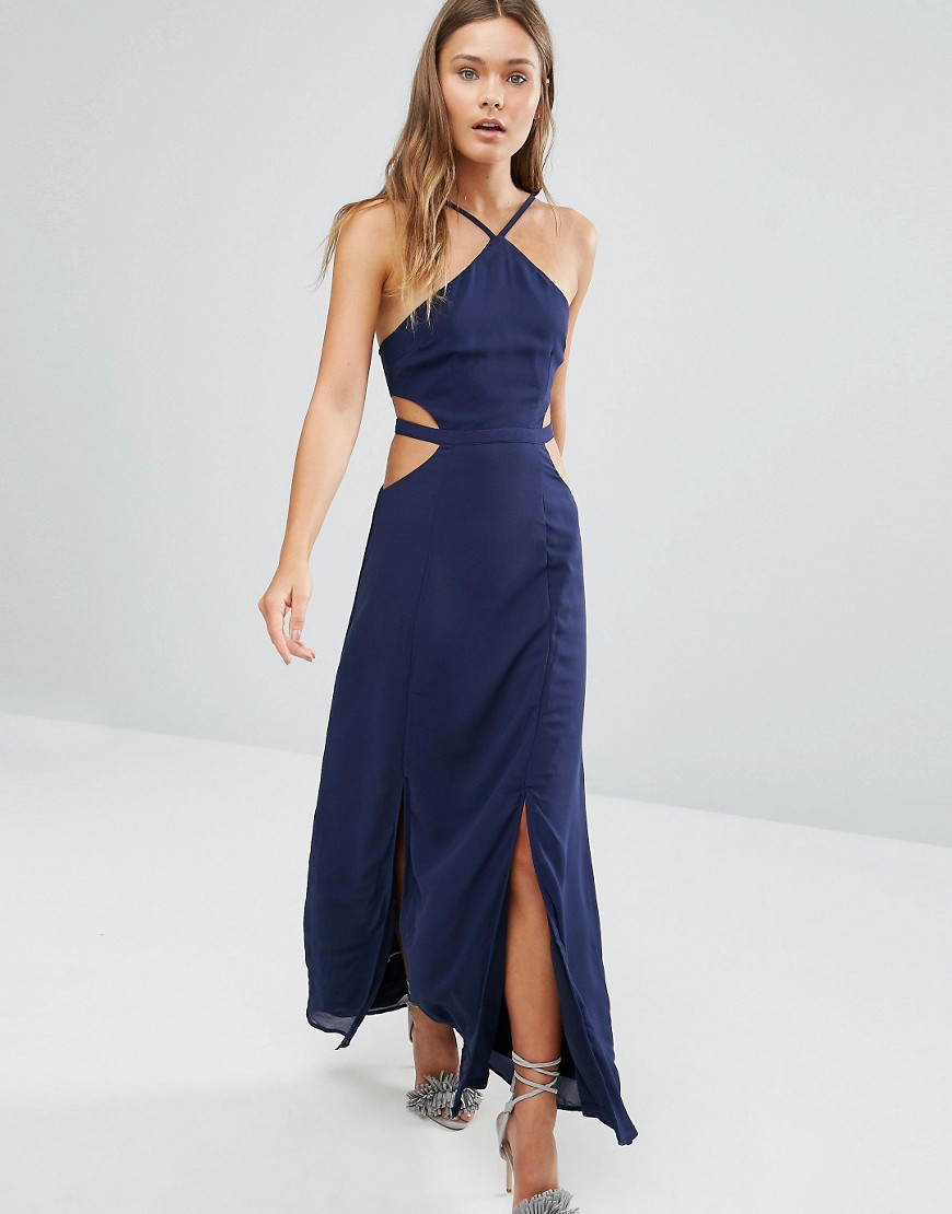 Image 1 of Pixie & Diamond Cut Out Maxi Dress