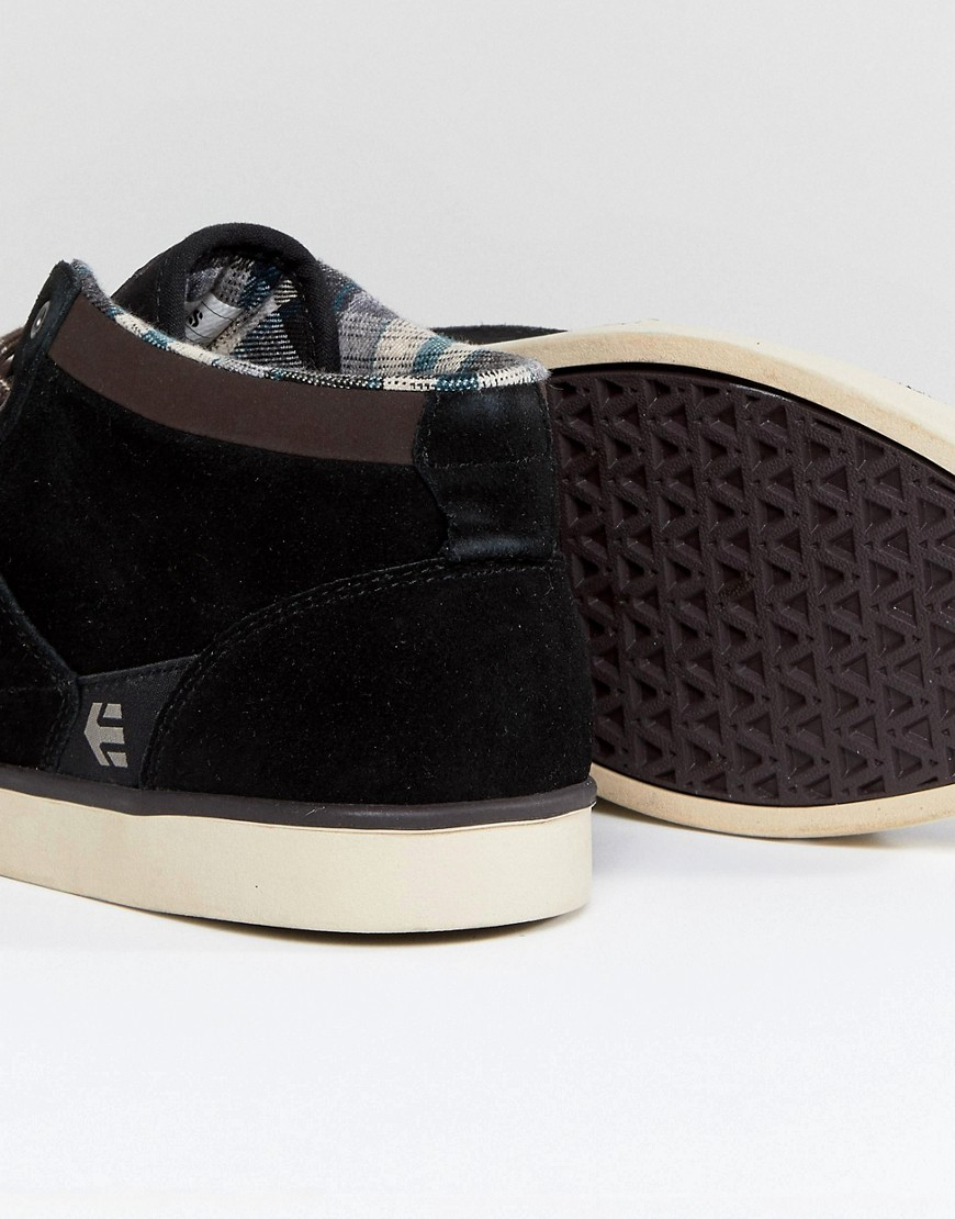 Nero uomo Sneakers alte Nero Etnies - Jefferson