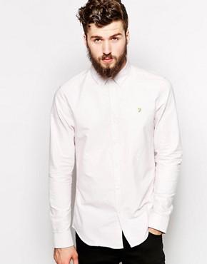 Farah Oxford Shirt in Slim Fit