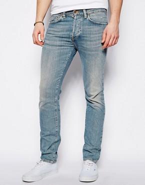 Edwin ED-80 Jeans Slim Fit Bronco Light Wash