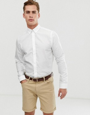 Ben Sherman Dobby Twill Shirt