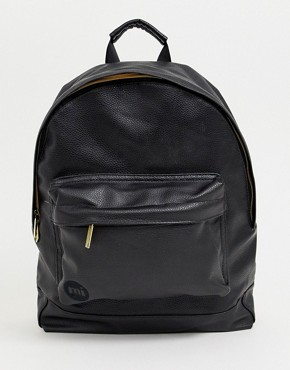 Mi-Pac Tumbled backpack in black