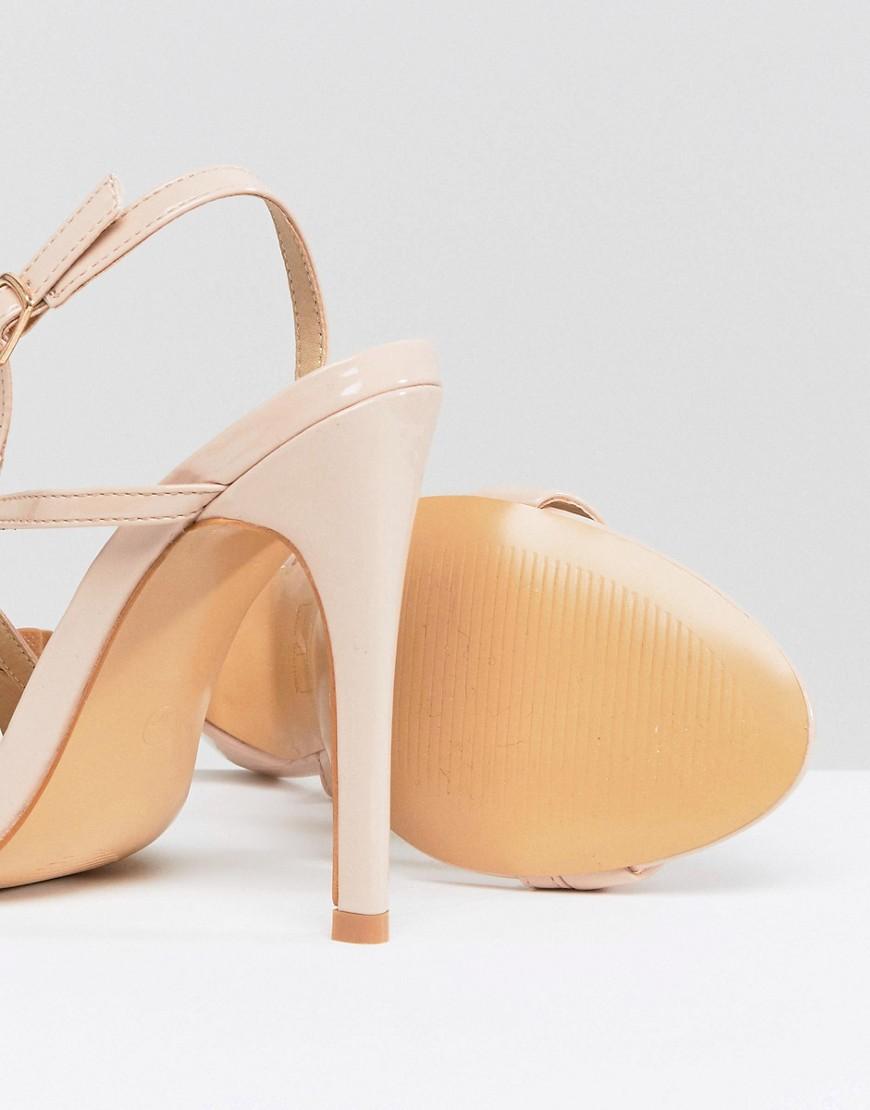 Sandalo Beige donna Sandali asimmetrici Beige Truffle Collection