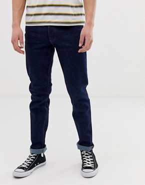 Threadbare skinny lanta jeans in blue rinse