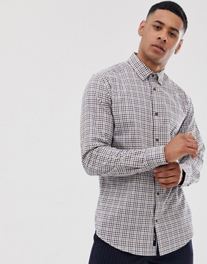 Only & Sons check shirt in regular fit