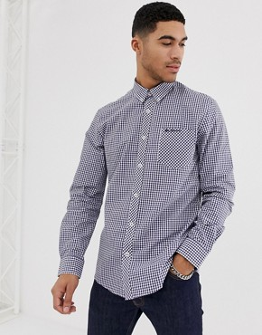 Ben Sherman gingham slim fit shirt