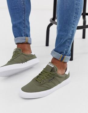 adidas Skateboarding 3MC trainers in khaki