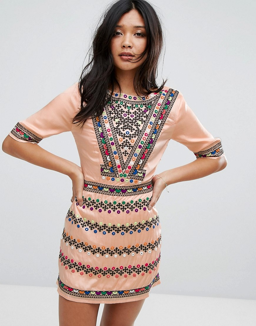 Majorelle LAYNE DRESS - MULTI