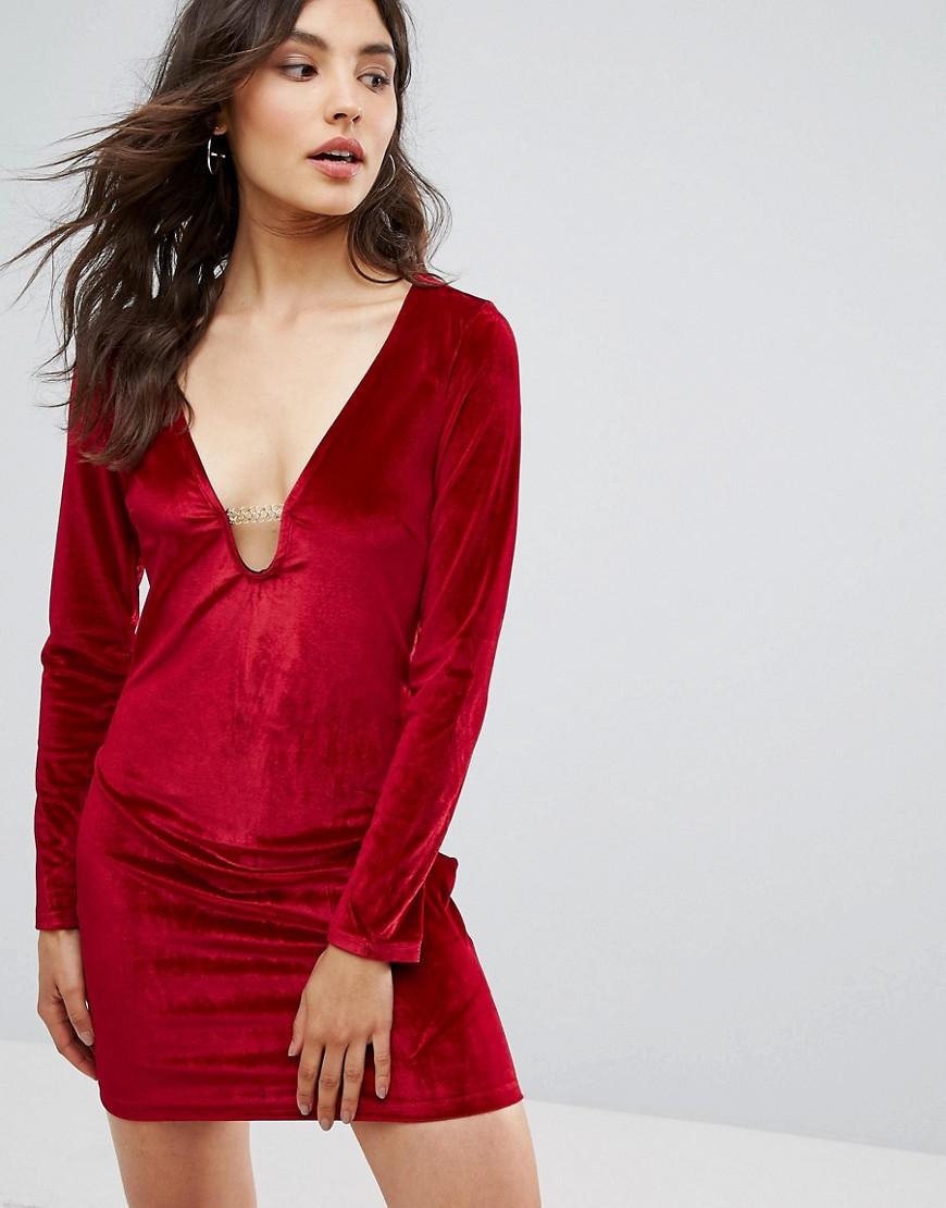 Oeuvre Velvet Dress