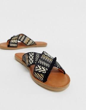 TOMS Viv Woven Mule Sandal