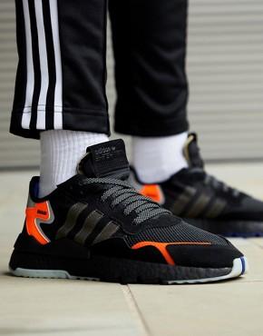 adidas Originals Nite Jogger Trainers in black CG7088