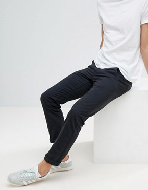 Lindbergh Chinos in Dusty Black - Dusty black