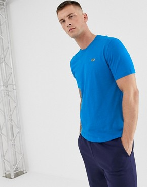 Lacoste Sport small logo t-shirt in blue