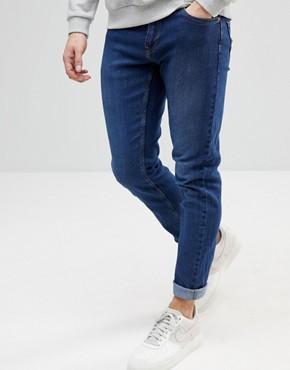 Troy Slim Fit Jeans - Blue