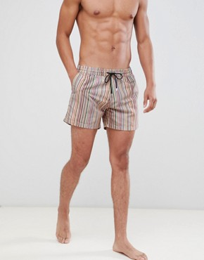 Paul Smith classic stripe swim short - Multi