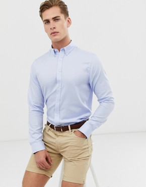 Ben Sherman Heavy Yarn Dyed Twill Shirt