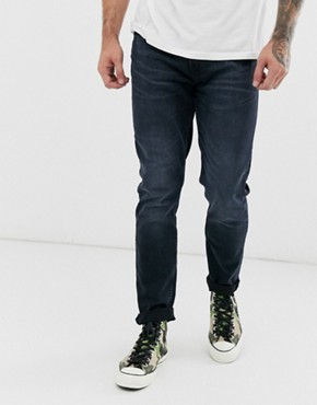 Burton Menswear tapered jeans in blue