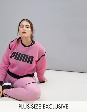 Puma Plus Exclusive To ASOS Active Mesh Sweatshirt