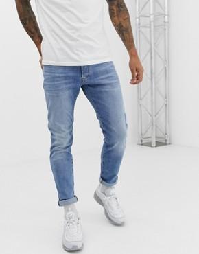 G-Star Elto 3301 slim fit superstretch light wash jeans