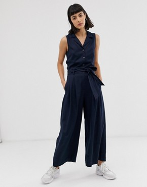 Weekday jumpsuit in navy