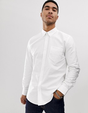 Ben Sherman long sleeve slim fit oxford shirt