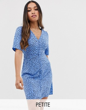 Vero Moda Petite floral tea dress