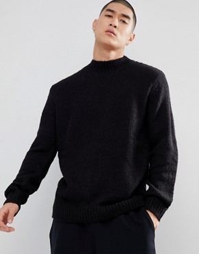 Cheap Monday High Neck Jumper