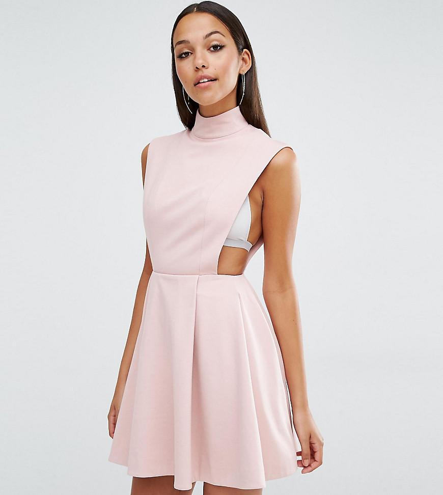 AQ/AQ Sorah High Neck Mini Dress