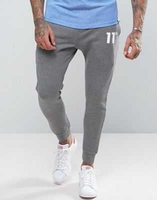 11 Degrees Skinny Joggers In Grey