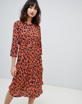 Image 1 of 2NDDAY printed leopard dress