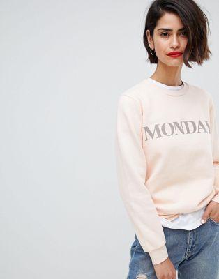 2NDDAY - Sweatshirt « monday »