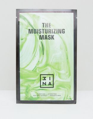 3ina Moisturizing Sheet Mask With Hyaluronic Acid & Tea Tree