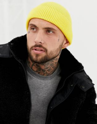 Image 1 of 7X fishermans beanie in mustard