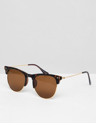 7x Retro Sunglasses In Brown