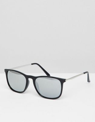 7x Square Sunglasses In Black