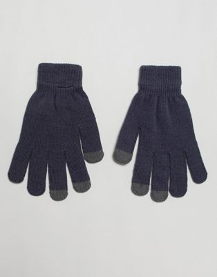 7X touch screen gloves in gray