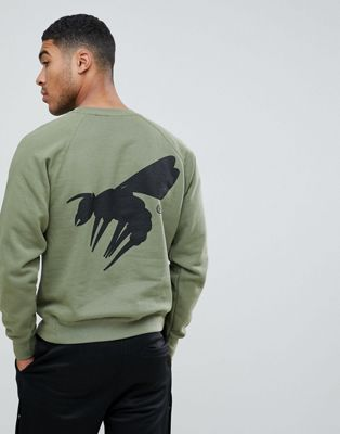 Image 1 of A London script logo back print sweater