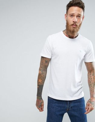 Abercrombie & Fitch Slim Fit T-Shirt Pop Icon Crew Neck in White