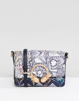 Image 1 of Accessorize tiger print cross body bag