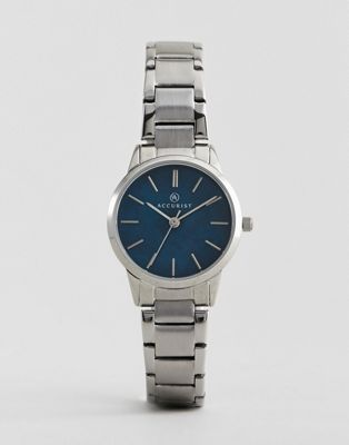 Image 1 of Accurist 8100 Silver Bracelet Watch