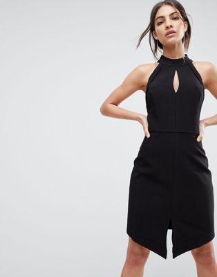 Adelyn Rae – Marlena – Figurnahes Neckholder-Kleid