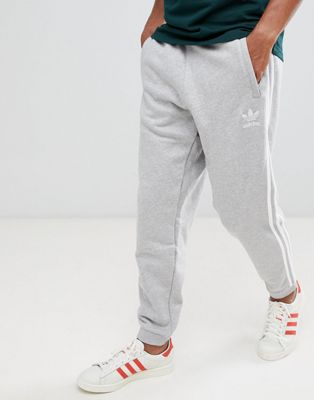 adidas Originals 3-Stripe Joggers In Grey DH5802