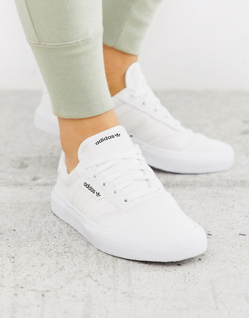 adidas Originals - 3MC - Baskets - Triple blanc