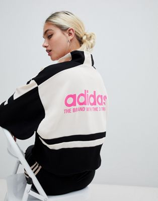 adidas Originals Aa-42 Motorcross Track Jacket In Black