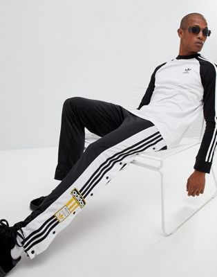 adidas Originals adibreak Popper Joggers In Black CZ0679
