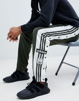 adidas Originals adibreak Popper Joggers In Green DH5749
